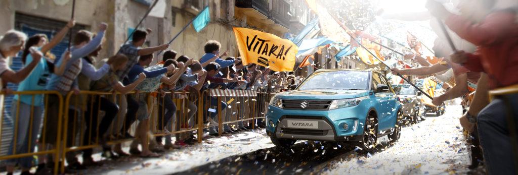 Agency: Noah Advertising, client: Suzuki Europe